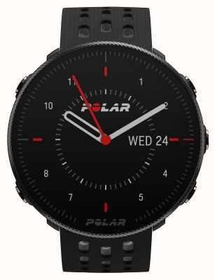 Polar Vantage m2 | zwart / grijze siliconen band 90085160