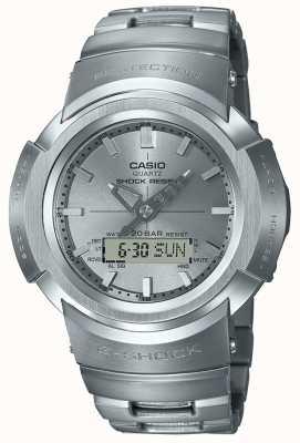 Casio G-schok | volledig metalen armband | radiografisch bestuurbare AWM-500D-1A8ER