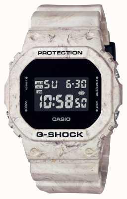 Casio G-schok | utility golvend marmer | digitaal beeld DW-5600WM-5ER