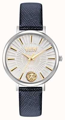 Versus Versace Versus dames mar vista horloge met leren band VSP1F0121