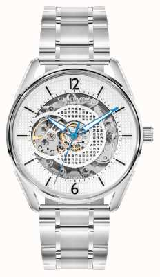 Kenneth Cole Automatisch | zilveren wijzerplaat | roestvrij stalen armband KC50205001A