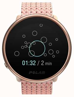 Polar Ontsteken 2 | roze & roze | activiteits- en hr-tracker | roze stoffen band | s / m 90085186