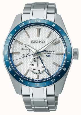 Seiko Presage scherpe gmt: limited edition 140-jarig jubileum SPB223J1