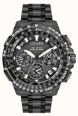 Citizen GPS navihawk satellietgolf | zwart super titanium | cc9025-51e CC9025-85E