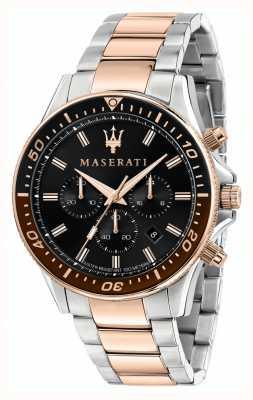 Maserati Sfida heren tweekleurige armband R8873640009