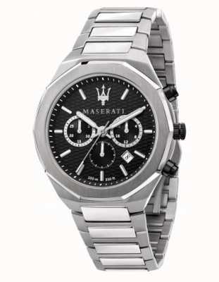 Maserati Stile heren chronograaf roestvrij stalen horloge R8873642004