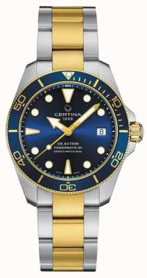 Certina Ds action diver stc speciale editie C0328072204110