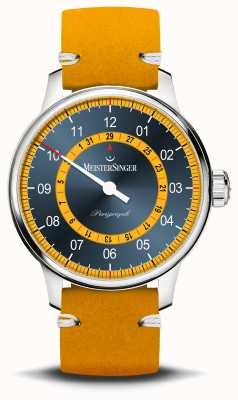 MeisterSinger Perigraph mellow yellow limited edition S-AM1025