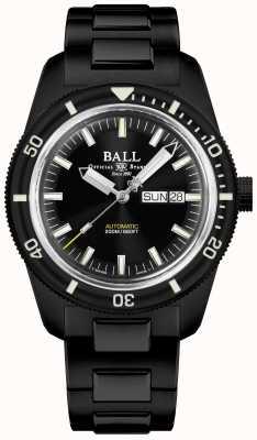 Ball Watch Company Ingenieur ii | skindiver erfgoed | automatisch | tic zwarte coating DM3208B-S4-BK