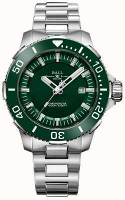 Ball Watch Company Deepquest keramische groene lunette en wijzerplaat DM3002A-S4CJ-GR