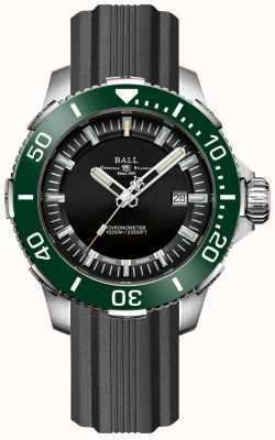 Ball Watch Company Deepquest keramische groene bezel rubberen band DM3002A-P4CJ-BK