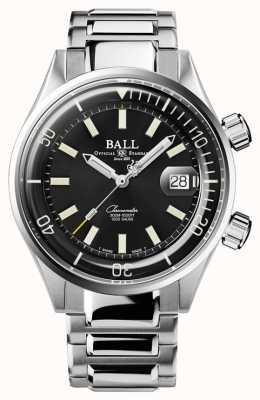 Ball Watch Company Duiker chronometer zwarte wijzerplaat horloge DM2280A-S1C-BK