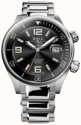 Ball Watch Company Duiker chronometer zwarte sunray wijzerplaat horloge DM2280A-S2C-BK