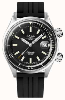 Ball Watch Company Engineer master ii duiker chronometer zwarte wijzerplaat DM2280A-P1C-BK