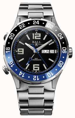 Ball Watch Company Roadmaster marine gmt keramiek blauw en zwart DG3030B-S1CJ-BK