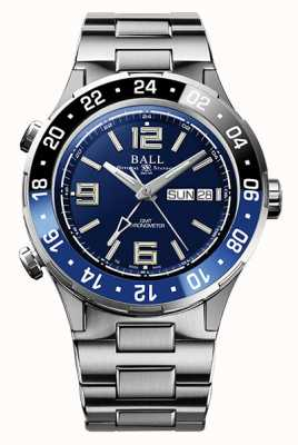 Ball Watch Company Roadmaster marine gmt keramische ring blauwe wijzerplaat DG3030B-S1CJ-BE