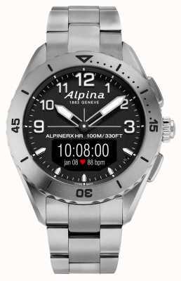 Alpina | alpinerx levend | titanium smartwatch | AL-284LBBW5TAQ1B