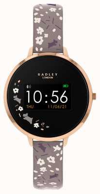 Radley Smartwatch serie 3 grijze bloemenband RYS03-2016