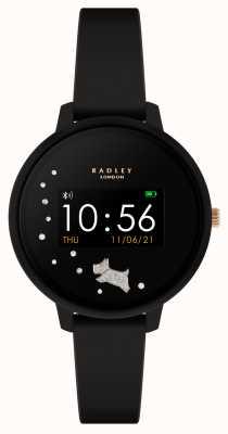 Radley Smart watch series 3 zwarte siliconen band RYS03-2026
