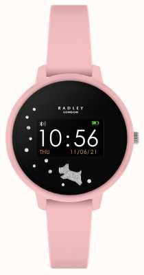 Radley Smart watch serie 3 roze siliconen band RYS03-2027
