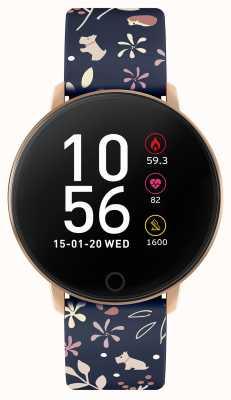 Radley Smart watch serie 5 blauwe bloemenband RYS05-2046