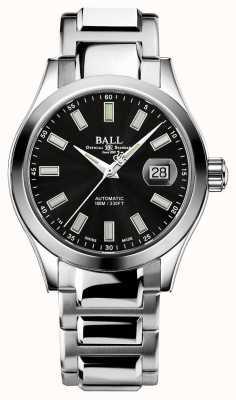Ball Watch Company Heren | ingenieur iii | wonderlicht | roestvrij staal | zwarte wijzerplaat NM2026C-S10J-BK
