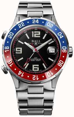 Ball Watch Company Roadmaster pilot gmt limited edition zwarte wijzerplaat DG3038A-S2C-BK