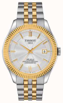 Tissot Ballade heren | powermatic 80 siliculm | tweekleurige armband T1084082227801