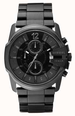 Diesel Gents alle zwarte chronograaf horloge DZ4180