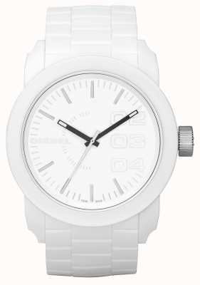 Diesel Uniseks horloge witte wijzerplaat DZ1436
