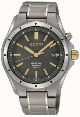 Seiko Mens titanium kinetisch SKA765P1