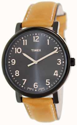 Timex Ez reader tan strap classic horloge T2N677